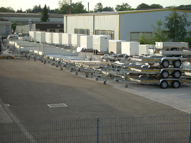 Bootstrailer für Boote bis ca. 5,50 m – Nutzlast ca. 530 kg