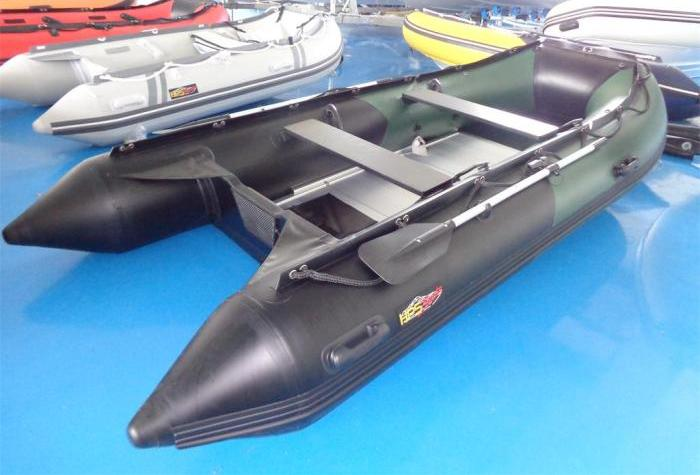 Schlauchboot 3,80m x 1,70 mit Aluboden und viel Zubehör  von HPS-Boats