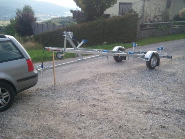 Bootsanhäger für Boote bis 5 Meter Vollausstattung Bootstrailer Bootsanhänger Bootsanhänger