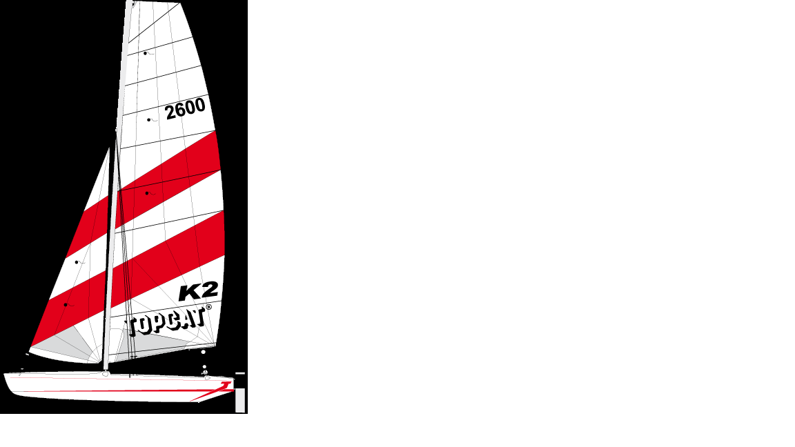 Katamaran TOPCAT- K2 Steamcut zu verkaufen