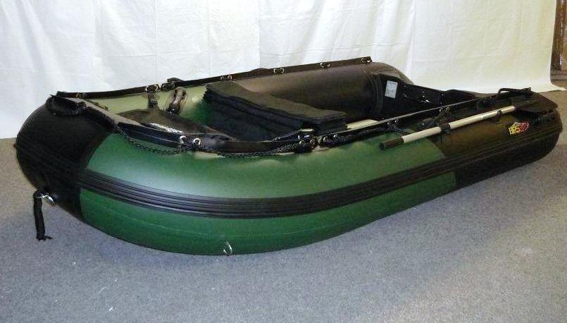 Schlauchboot 3,20m x 1,52m mit Luftboden und viel Zubehör von HPS-Boats
